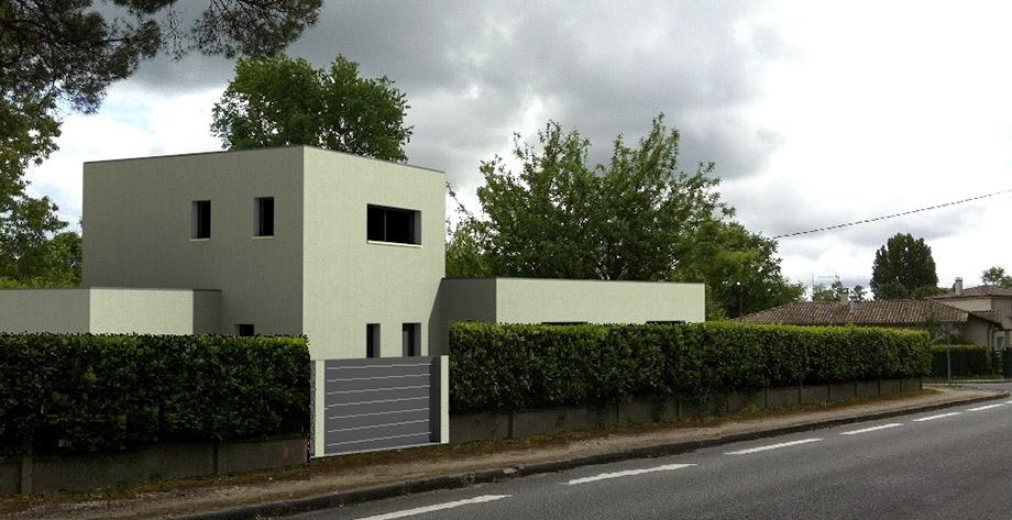 maison-toit-plat-vue-exterieur-portail